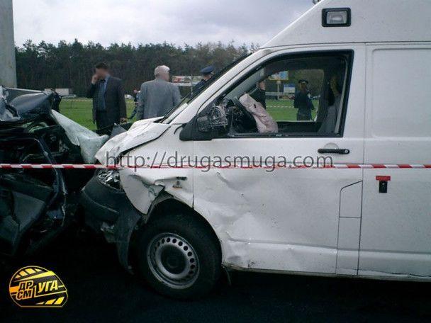 ДТП за участі авто з кортежу Януковича