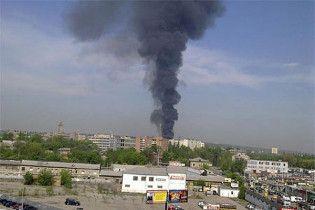Пожежа у Харкові ліквідована: горів склад туалетного паперу