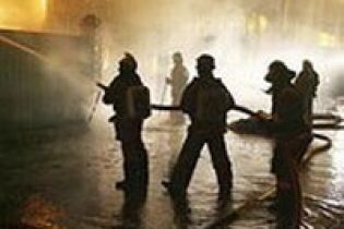 Пожежа на складі пестицидів