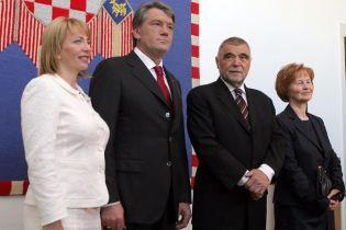 Президент повернувся з Хорватії