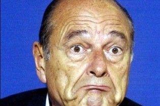 Жака Ширака покусав собака