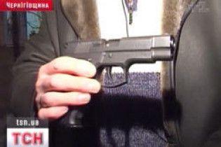 Мешканці Чернігівщини взялися за зброю