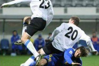 """Збірна Естонії вийшла на матч у футболках """"Шахтаря"""" - і програла"""