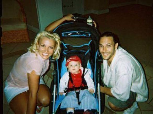 Брітні Спірс, Кевін Федерлайн і їхній малюк
