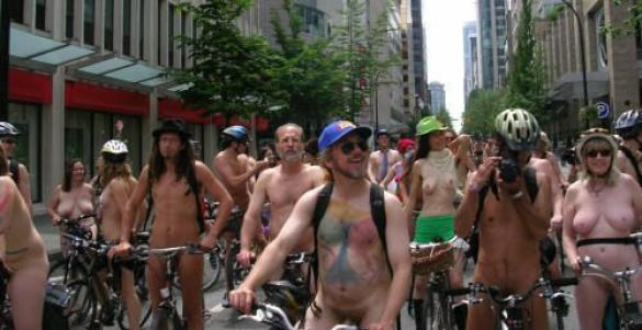 World Naked Bike Ride (Фото: travelblogs.com)