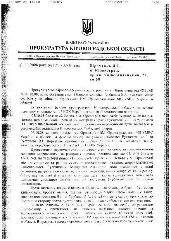 Прокуратура Кіровоградської області 1