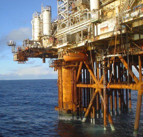 Нафтова платформа Thistle Alpha (Фото: patrix.dk)