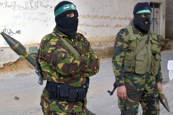 Бойовики руху ХАМАС