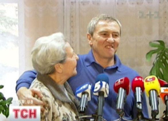 Черновецький та бабуся