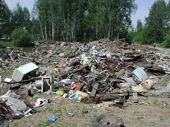 Звалище (Фото: www.greenpeace.org)