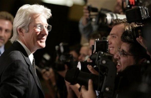 Річард Гір святкує 60-річний ювілей