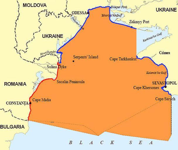 Румунії дісталася більша частина шельфу біля Зміїного