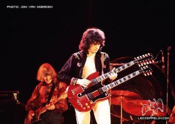 У Великобританії на барахолці знайшли рідкісний запис Led Zeppelin