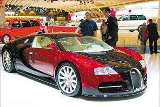 Найкращим об'єктом для інвестицій визнали Bugatti та Ferrari