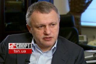 Суркіс: я пильно стежу за кар'єрою Заварова, Калитвинцева і Максимова
