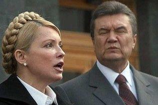 Тимошенко: Янукович виявився банальним боягузом