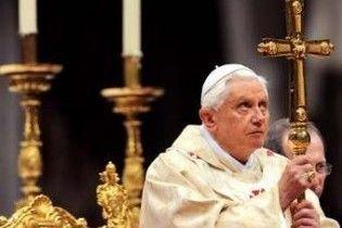 Паломниця штовхнула Папу Римського перед різдвяним богослужінням