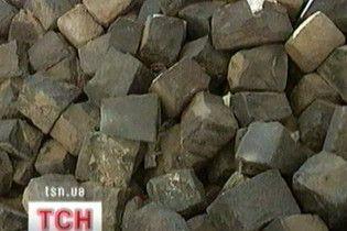 Багатії розкрадають львівську бруківку