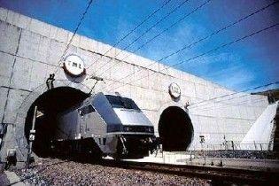 У тунелі під Ла-Маншем через мороз заблоковані дві тисячі пасажирів