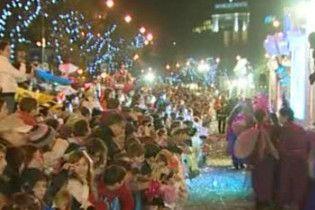 Іспанія відзначає перше велике свято в новому році - День трьох волхвів