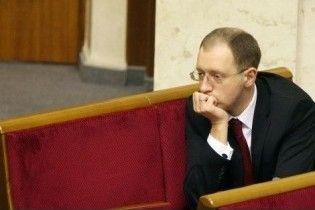 Яценюк не буде боротися з Тимошенко