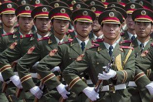 Китай скоротить армію на 700 тисяч військових