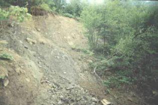 Зсув ґрунту на Херсонщині