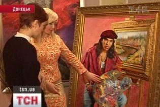 """Картини з футболістами """"Шахтаря"""" викликали фурор на найпрестижнішій виставці в світі"""