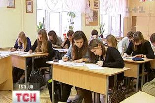 Через морози в Україні зачинена половина шкіл