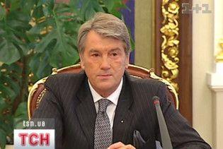 Ющенко вдруге заборонив фінансувати Євро-2012
