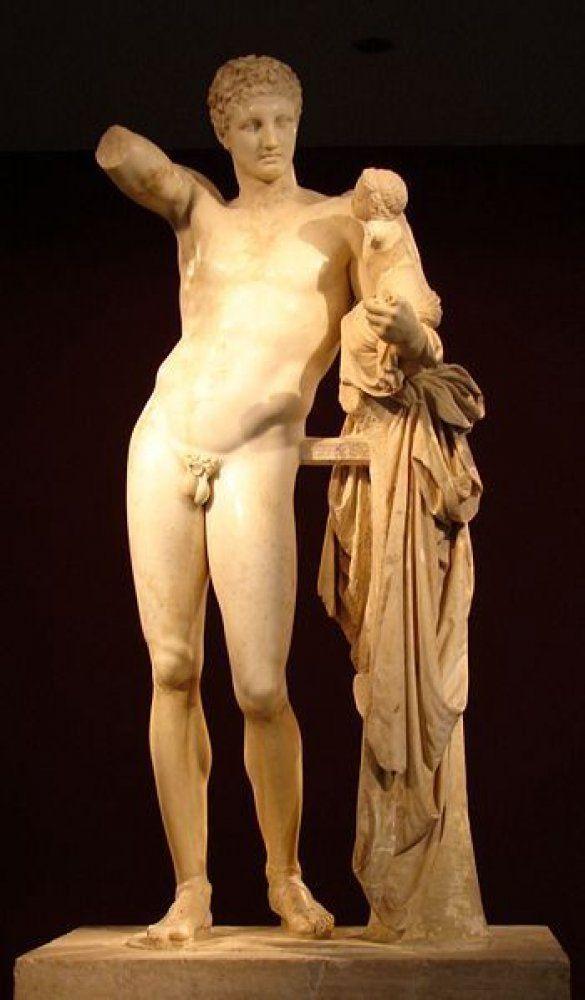 Гермес Праксителя (Фото: Wikipedia)