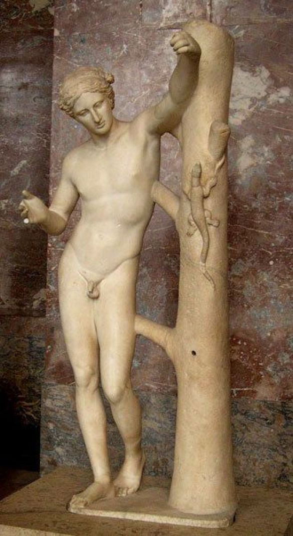 Аполлон Савроктон (Фото: Wikipedia)