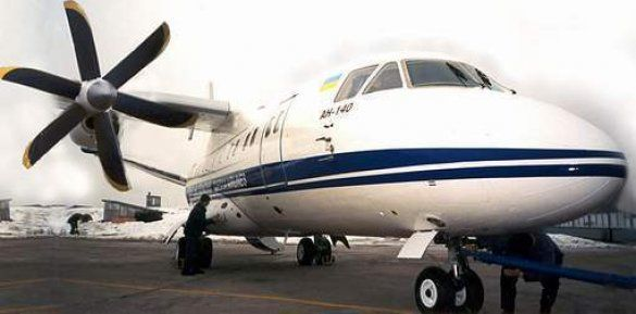 Ан-140 (Фото: www.obriy.pib.com.ua)
