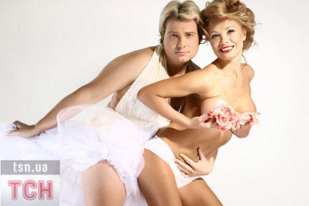 Микола Басков вдягнув жіночу сукню