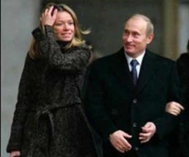 """Доньку Путіна """"видали"""" заміж за олігарха"""