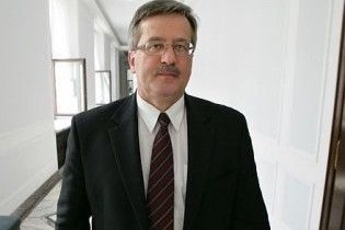Обов'язки президента Польщі виконуватиме маршалек сейму Коморовський