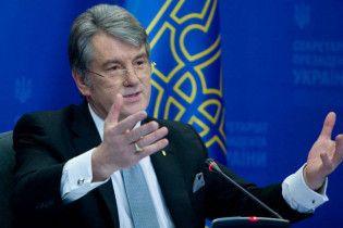 Ющенко нагородив свого брата Хрестом Івана Мазепи