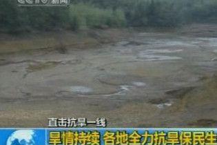 Більше 20 мільйонів людей в Китаї страждає від посухи
