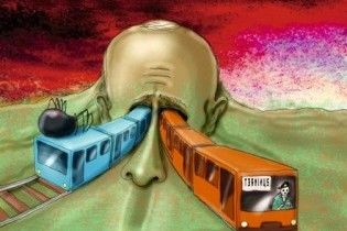 Бельгійський журнал вибачився за карикатуру про вибухи в московському метро