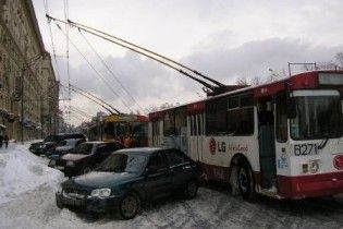Київські тролейбуси 29 березня не вийдуть на маршрути