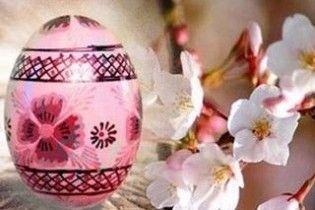 Погода в Україні на Великдень