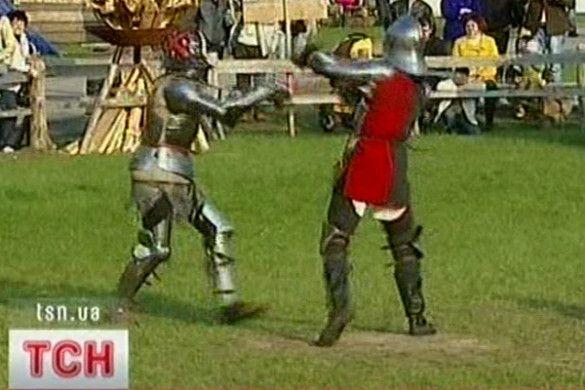 Рицарські замагання