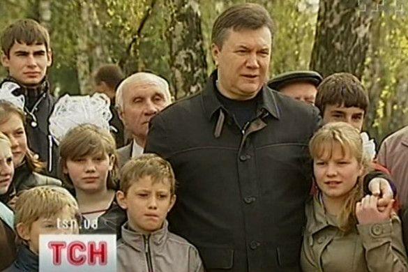 Віктор Янукович з дітьми