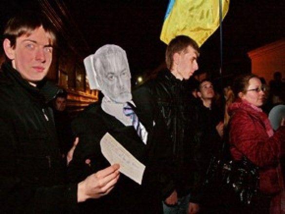 Прощання з Табачником Фото:xpress.sumy.ua