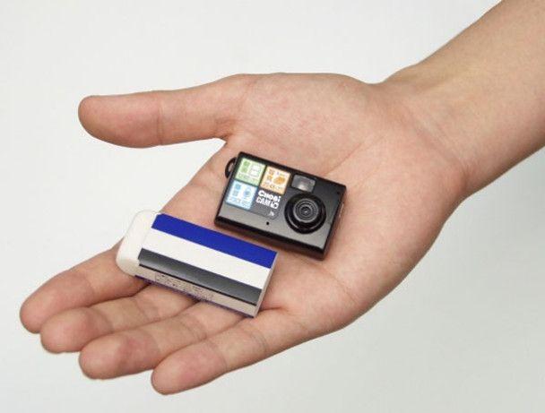 Японці розробили фотоапарат розміром з канцелярську гумку