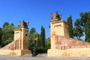 У Львові вандали пошкодили пам'ятник радянським воїнам