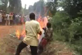 Жахливий суд Лінча у сучасній Африці (ексклюзивне відео)