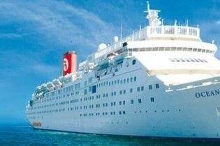 У Карибському морі круїзний лайнер не пускають в жоден порт