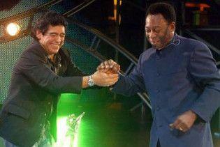 Марадона назвав Пеле гомосексуалістом і навів докази