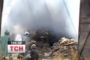 Причиною пожежі отрутохімікатів біля Джанкоя називають самозаймання